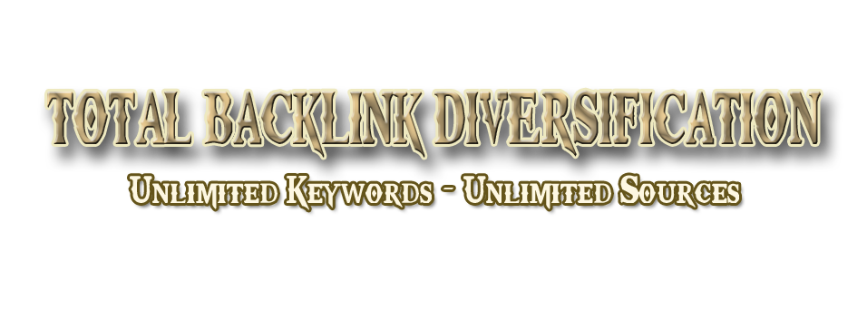 Total Backlink Diversification